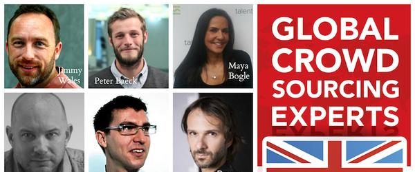 Headline for Top 15 Crowdsourcing Influencers – UK