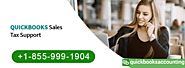 QuickBooks Sales Tax Support Number | +1-855-999-1904