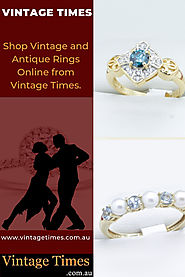 Why Vintage Diamond And Sapphire Rings Are Popular - Jewelry