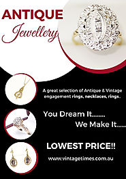 What to Consider When Buying Antique Jewellery