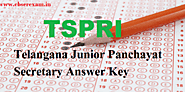 Telangana Panchayat Secretary Answer Key 2018 | TSPRRE Jr. Panchayat Secretary Answer Sheet Release @ tsprrecruitment...
