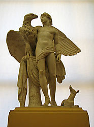Zeus & Ganymede | In Greek mythology, Ganymede, or Ganymedes… | Flickr