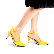 Buy Ripley Strappy Yellow Stiletto Heels Online at Best Price From PAIO Shoes