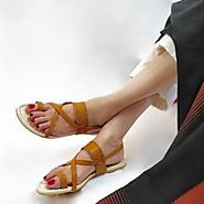 Buy Kokni Silver Flat Sandals Online at Best Price From PAIO Shoes