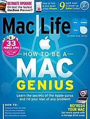 Mac Life Magazine - October 2018