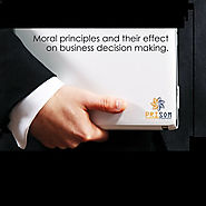Moral Principles And Their Effect On Business Decision Making – Prisom Technology LLP
