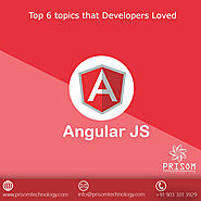 Top 6 topics about AngularJS that Developers Loved