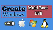 How to Create a Windows MultiBoot USB Flash Drive or Pendrive । EraIT