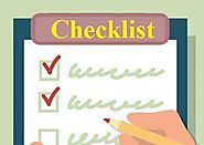 Checklist Templates | 12+ Free Printable Word, Excel & PDF