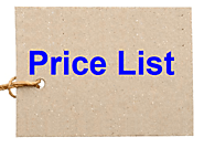 Price List Templates | 11+ Free Printable Word, Excel & PDF