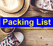 Packing List Templates | 15+ Free Printable Word, Excel & PDF