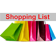Shopping List Templates | 12+ Free Printable Word, Excel & PDF
