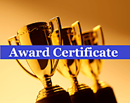 25+ Award Certificate Templates | Free Printable Word & PDF