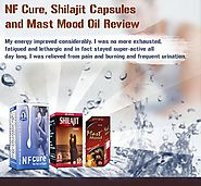 Reviews of NF Cure, Shilajit Capsules and Mast Mood Oil by Customers