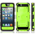 i-Blason Armorbox for Apple iPhone 5C Dual Layer Hybrid Full-body Protective Case with Front Cover and Built-in Scree...