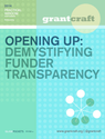 Report: Opening Up: Demystifying Funder Transparency