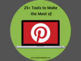 25+ tools to make the most of Pinterest