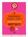 Social Media Marketing: 7 Pinterest boards every blogger must have