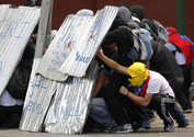 Venezuela opposition musters thousands for march despite Carnival holiday