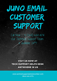 Juno Email Support Phone Number