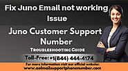 How to Fix Juno Email not working Issue