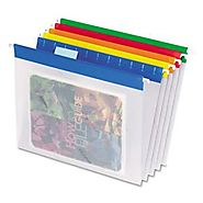 Pendaflex Easy View Poly Hanging File Folders