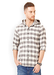 Buy Hooded Shirt Mens Online in India | Men Hooded Shirts