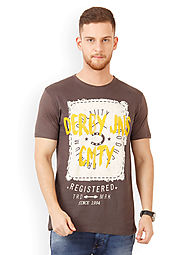 Buy T Shirts Online in India | Mens T-Shirts | Round Neck TShirt
