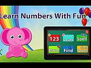 Kids learn with fun - 123 Numbers For Kids | educational games for kids | free educational games