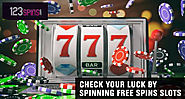 123 Spins — Check your luck by spinning free spins slots
