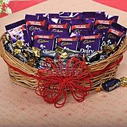 Send Loaded With Chocolates Same Day Delivery - OyeGifts