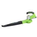 Greenworks 24122 24V Cordless Lithium-Ion Two Speed Handheld Blower - Tool Only (Open Box)