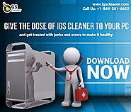 IGS Cleaner: PC Optimizer offers Multipurpose Utilities Software