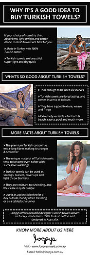Why Should You Use Turkish Towels?