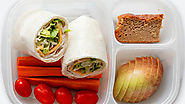 Eat healthily by bringing in your own lunch - portion controlled and healthier than sandwiches and crisps
