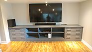 Design Toronto's Best Built-In Wall Entertainment Unit at Space Age Closets