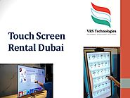 Benefits of Touch Screens