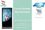 Website at https://touchscreenrentaldubai.kinja.com/how-touch-screen-rentals-are-beneficial-for-training-se-183387896...