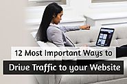 12 Most Important (& FREE) Ways to Drive Traffic to your Website – Blossom Web Studio