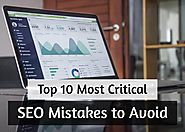 Top 10 Most Critical SEO Mistakes to Avoid – Blossom Web Studio