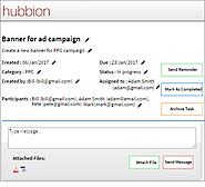 Hubbion - Free Online Task Management Software Tool