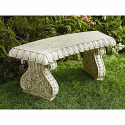 Curved Bench--Outdoor Living-Outdoor Decor-Misc. Outdoor Decor