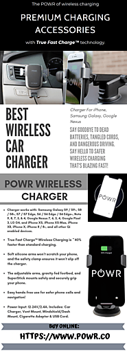 POWR - Best Wireless Car Charger