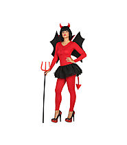 Costume Demon woman red