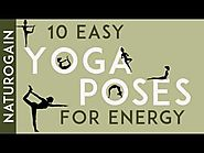 10 Easy Yoga Poses to Get Energy in the Morning Naturally