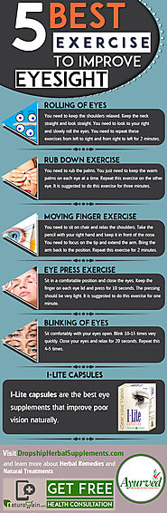 10 Signs That You Have Poor Vision 5 Best Exercises to Improve Eyesight