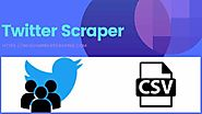 Twitter scraper | Web scraping software - Infovium web scraping services