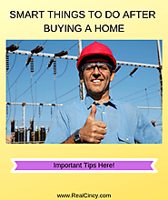 What To Do After Buying A Home