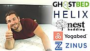 GhostBed vs Helix vs Nest Love and Sleep vs Yogabed vs Zinus - Best Bed in a Box Mattress Comparison