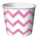Pink Chevron Party Decorations